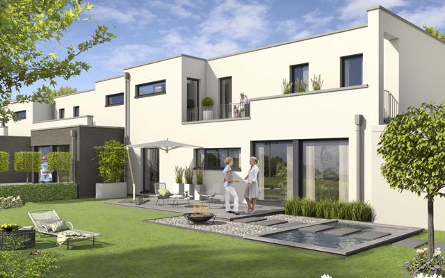 Smarthomes - Mitdenkende Häuser in familiärer Wohnlage