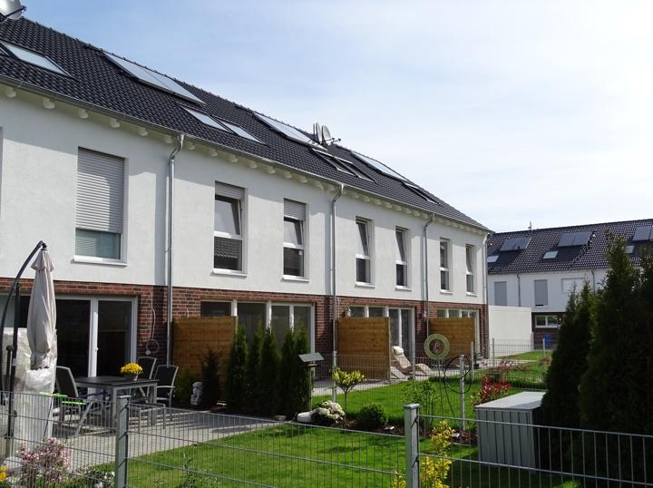 Reihenhäuser Maastrichter Straße