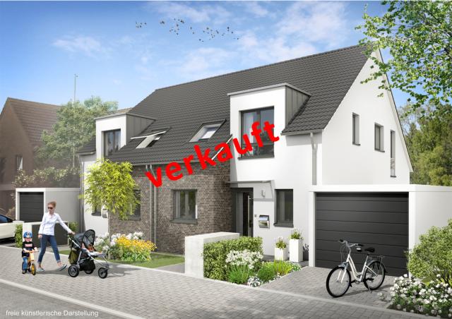 Verkauft - 2 Doppelhaushälften in Neuss-Reuschenberg